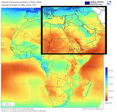Middle East Countries Map Renewable Energy Resources Library Index Global Energy