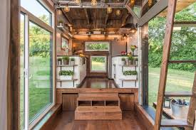 interiors of tiny homes tiny home clad in burnt wood packs a ton of luxury into just 240