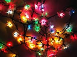 christmas tree flower lights christmas lights crafts diy fairy lights flower lights image