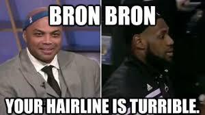 Lebron Headband Meme - damn the 50 meanest lebron james hairline memes of all time
