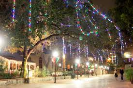 downtown san antonio christmas lights rock oak deer touring the san antonio lights from la villita to
