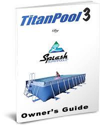 manuals splash pools