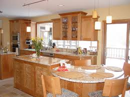 Kitchen Island With Attached Table Kitchen Island With Table Attached Trendyexaminer