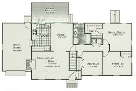 home architect plans architectural plan of house homes floor plans