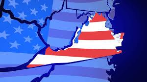 Va Flag Virginia Va United States America Usa Flag Map 3d Animation Motion