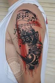 best 25 music sleeve tattoos ideas on pinterest arm chest