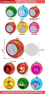 personalized sublimation blank ornaments printable