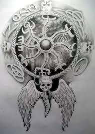 viking compass by tattoo design on deviantart