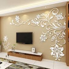 3d Wall Designs Bedroom 3d Wall Decals Stickers Modern Wall Decor Homerises
