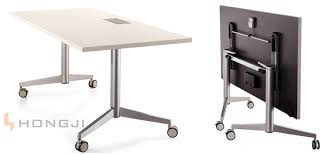 office table on wheels folding table office china wood rectangular office folding table
