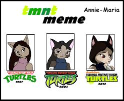 Tmnt Meme - tmnt meme annie maria by straighteye on deviantart