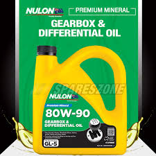 nulon 80w 90 gearbox and differential oil 4l for nissan includes