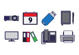 icones bureau gratuits vecteur d 39 icône d 39 élément de bureau gratuit téléchargez de