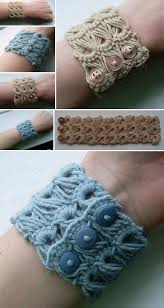 bracelet crochet pattern images Broomstick crochet bracelet pattern is an easy diy makeup fans jpg
