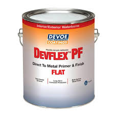devflex pf 1 gal flat acrylic white direct to metal primer and