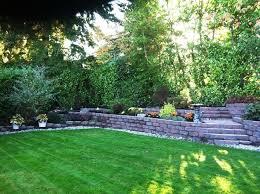 triyae com u003d retaining wall backyard hill various design