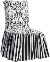 Sofa Slipcover Black Fall Is Here Get This Deal On Classic Slipcovers Damask Stripe