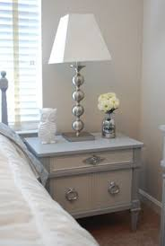 Painted Bedroom Furniture Before And After by Gray Furniture With Spray Painted Hardware Gray Painted