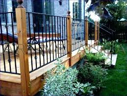 Ideas For Deck Handrail Designs Cheap Deck Railing Ideas Horizontal Deck Railing Ideas Rustic