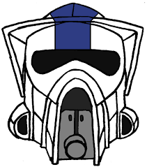 star wars clipart clone trooper pencil and in color star wars