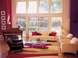 colors for small living rooms living room red and purple wall paint color combinations for