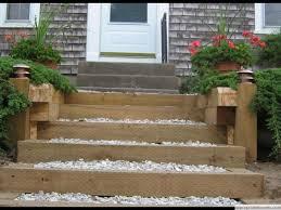 Cedar Landscape Timbers by Decks And Decking Brewster Ma Deck Builder 02631