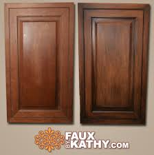 Faux Finish Cabinets Kitchen Re Stain Kitchen Cabinet By Using Faux By Kathy Stain It Product