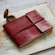 leather albums personalised handmade leather photo albums by paper high