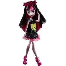 monster high electrified hair raising ghouls draculaura doll