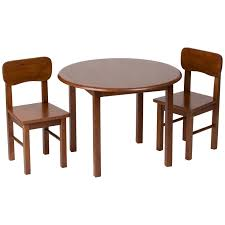 Table And Chair Sets Guidecraft Classic Espresso Table U0026 Chair Set Hayneedle