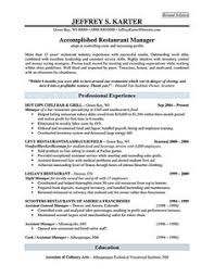 Resume Examples For Restaurant Jobs by Job Resume Examples For College Students Good Resume Examples For