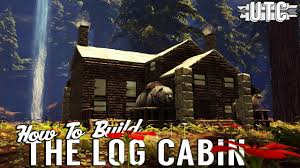 how to build a cabin house the log cabin ark building tutorial how to build a canadian