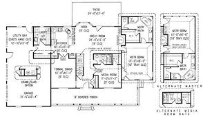 farmhouse floor plan dazzling design 15 plans for farmhouse 3444 square 4 bedrooms 3