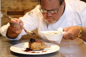 in the kitchen with executive chef bill gideon seminole hard