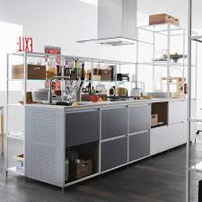 metal island kitchen contemporary kitchen metal island meccanica by gabriele