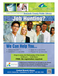 Resume Help Online by Resume Help Central Branch Library Casselberry Seminol
