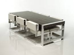Modern Kitchen Tables And Chairs Pueblosinfronterasus - Designer table and chairs