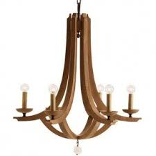 Casual Chandeliers Carved Wood 6 Light Chandelier Foter