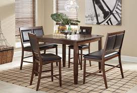 Bar Height Dining Room Table Sets Dining Room Bar Height Dining Table With Bench High Dining Table