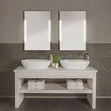 Lighted Mirrors For Bathroom Lighted Mirrors For The Bathroom Ylighting