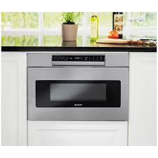 Microwave In Island In Kitchen Sharp Stainless 24