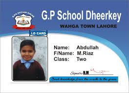 card student card template