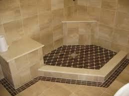 How To Tile A Bathroom Shower Floor Unique Design Tile Shower Floor Pan Fiberglass Crustpizza Decor