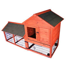 trixie rabbit hutch with outdoor run and wheels 78 25