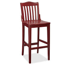 Pottery Barn Bar Stools Pottery Barn Red Bar Stool