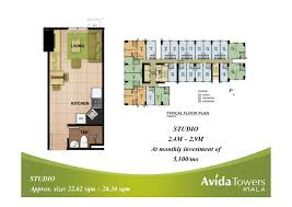 36 sqm avida towers riala u2013 cebu real estate condo house and lot for