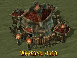 warcraft faction showcase warsong clan buildings news mod db