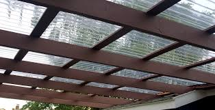 Cheapest Patio Material by Transparent Plastic Roof Panels The New Material For Your Roofing