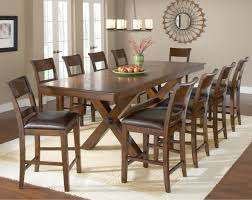 11 piece pub table and stool set by hillsdale wolf and gardiner