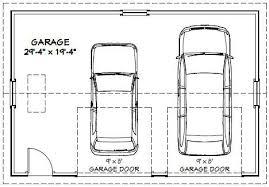 2 Car Garage Sq Ft   impressive 2 car garage sq ft a home plans property living room